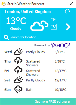 SterJo Weather Forecastr