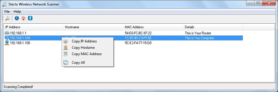 sterjo wireless passwords v.1.4